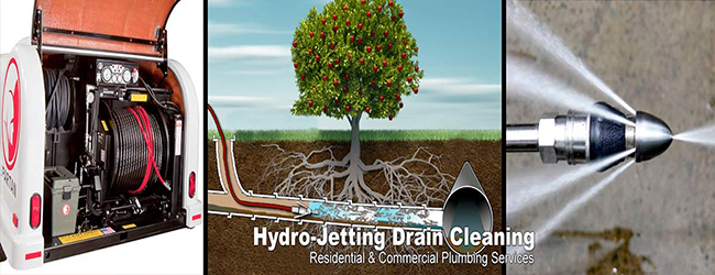 hydro jet sewer cleaning in houston tx